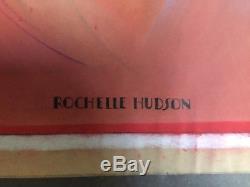 Rochelle Hudson Rare Superbe Original Art 30s Disney Animateur Imitation De Vie