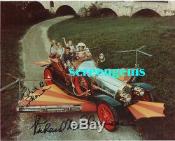 Sherman Brothers Photo Rare Signé Deux Compositeurs Walt Disney Chitty Bang Bang