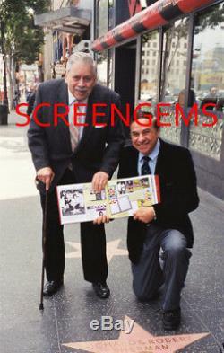 Sherman Brothers Photo Signée Walt Disney Mary Poppins Compositeurs Menthe Rare