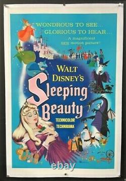 Sleeping Beauty Affiche De Cinéma Originale Walt Disney 1959 Affiches D'hollywood