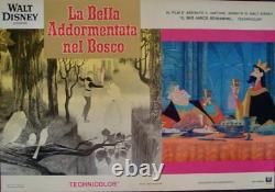 Sleeping Beauty Italien Fotobusta Affiches De Films X8 Walt Disney R1970