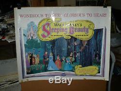Sleeping Beauty, Orig Roulé 22x28 / Animation Affiches De Film Disney 1959