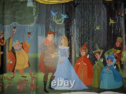Sleeping Beauty (r1970) Affiche Originale Disney 6 Feuilles De Film (77x77) #r70/124