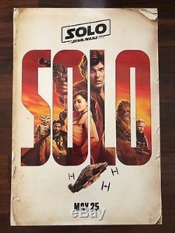 Solo A Star Wars Histoire Original Ds 27x40 Seven (7) Ensemble D'affiches De Cinéma Disney Dmr