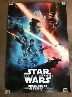 Star Wars The Rise Of Skywalker D/s Bus Shelter Movie Poster 4' X 6
