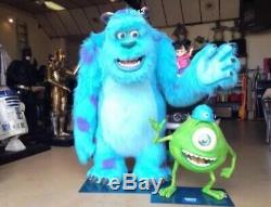 Sulley Mike Et Boo, Statues Grandeur Nature, Disney Pixar Monsters Inc