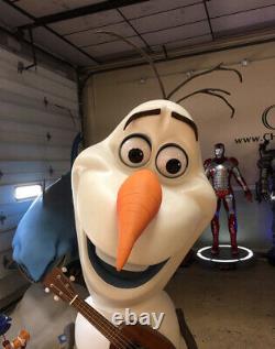 Taille De Vie Disney Surgelé Olaf 11 Full Size Prop