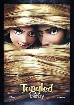 Tangled Cinemasterpieces Disney Rapunzel Longs Cheveux Ds 2010 Affiche Film
