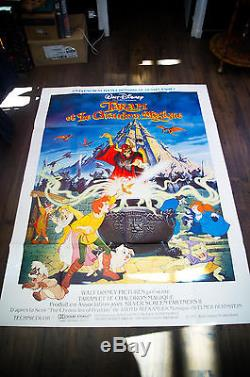 Taram The Black Cauldron Affiche De Film Walt Disney 4x6 Ft Shelter Original 1985