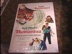 Thomasina Movie Affiche'64 Vintage Cat Disney