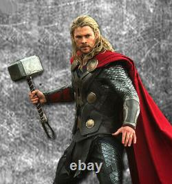 Thor Mjolnir Hammer, 11 Metal, Light-up Base, Marvel Avengers, Disney Legends