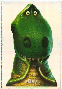 Toy Story 2 Affiche Du Film Très Rare Fenêtre Une Feuille Cling Set Disney Animation