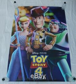 Toy Story 4 Affiche Principale De Pixar Walt Disney Bus Shelter Poster 4'x6