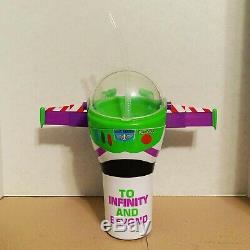 Toy Story 4 Seau À Pop-corn Disney Pixar 1 + 2 Tasses Cinemex Nouveau Woody Buzz Alien