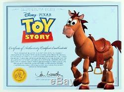 Toy Story Bully Pferd Bullseye Et Son Vibrant Son Fx Woody Signature Edition