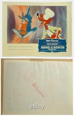 Très Rare Carte D'entrée Originale R-56 N ° 4 Fr. La Chanson De Disney Du Sud (1946)