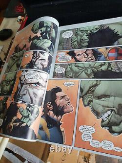 Très Rare! Disney IL Était Une Fois L'écran Original Utilisé Hulk Comicbook Prop