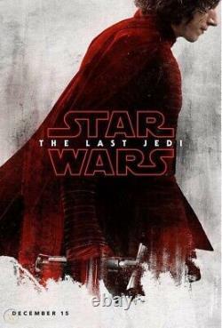 Très Rare! Profitable Disney Store Force Fridays Set Of 4 The Last Jedi Posters