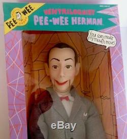 Vintage 1989 26 Poupée Pee Wee Herman Ventriloquist (neuve Et Scellée)