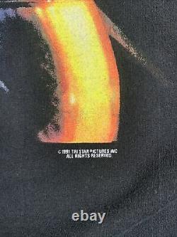 Vintage 1991 Crochet T-shirt Taille XL Promo Disney Peter Pan Robin Williams Film
