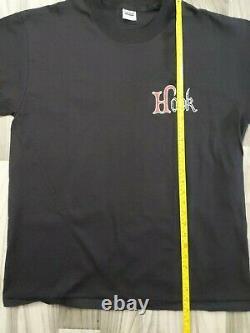 Vintage 1991 Hook T-shirt Taille XL Promo Disney Peter Pan Robin Williams Film