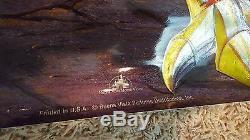 Vintage 1994 Disney Gargoyles Spectra Foil Affiche Du Film 26 X 39