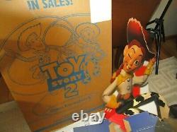 Vintage Disney's Toy Story 2 Standee Promotionnel Ultra Rare Dans La Boîte Inutilisée