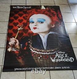 Vinyl Disney Banner Alice Au Pays Des Merveilles Extrêmement Rare