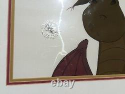 Walt Disney 1977 Pete's Dragon Elliott Animation Cel Movie Cartoon Vintage Mouse