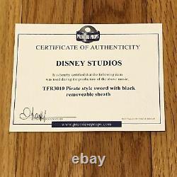 Walt Disney Archives Épée Pirate Prop