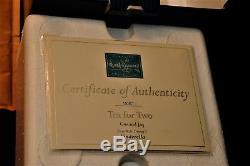 Walt Disney Classics Gus & Jac Dans Une Tasse De Thé Avecroyal Doulton Plate Cendrillon Coa