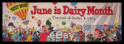 Walt Disney Disneyland 1955 Association Laitière Américaine De Télévision Affiche