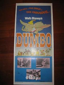 Walt Disney Dumbo Daybill Signé Par Frank Thomas Et Ollie Johnston