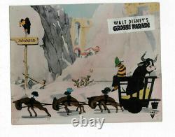 Walt Disney Große Parade Deutsches Ea-aushangfoto Rko Sehr Rar