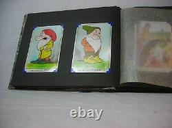 Walt Disney Snow White Original Postcard Album Contient 24 Cartes Valentines