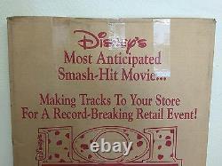 Walt Disney's 101 Dalmatians Vintage Film Standee Affichage Publicitaire B#6087