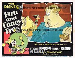 Walt Disney's Amusant Et Fantaisie Gratuit Avec Mickey Mouse Vintage