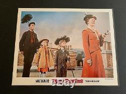 Walt Disneys 1964 Mary Poppins 11 Par 14 Cartes D'entrée