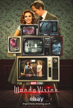 Wandavision Disney+ Tv Final Poster 27x40 Original Us D/s Double Sided One Sheet