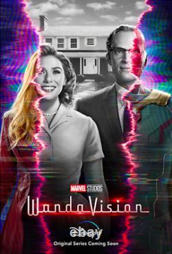 Wandavision Disney+tv Teaser Poster 27x40 Original Us D/s Double Sided One Sheet