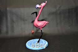 Wdcc Disney Flamingo Fling Le 268/2000 De Fantasia 2000 Mib Avec Coa